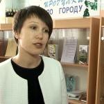 Встреча с журналисткой Еленой Разиной в юношеской библиотеке