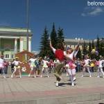 Сказочный праздник для всех горожан на площади Металлургов