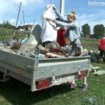 Тирлянские школьники наводят порядок в своем селе