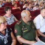 Заседание II пленума Совета ветеранов города и района