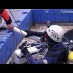 Поисково-спасательные работы водолазов