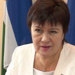 Председатель районного Совета депутатов Диля Хамзина