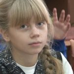 Урок русского языка в Тирлянской школе
