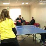 Теннисный турнир в обществе инвалидов