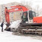 Капремонт водопровода по улице Кирова