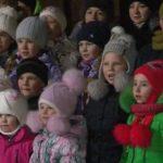 Открытие ёлки в Первомайском поселке