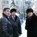 Рустэм Хамитов ознакомился с ходом капитального ремонта здания гимназии №17