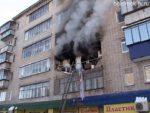 Пожар на ул. Ф. Алексеева, 37