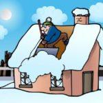Почистим снег с крыш и дворов