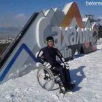 Призер Чемпионата России по горнолыжному спорту среди лиц с поражением опорно-двигательного аппарата