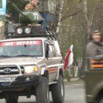 Автопробег внедорожников в День Победы