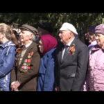 Митинг у стелы погибшим в годы войны металлургам