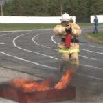 «Пожарный дозор» на стадионе «Металлург»