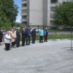 Митинг возле памятника Ленину. День памяти и скорби