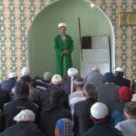 Ураза-байрам в мечети микрорайона Октябрьский