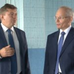 Рустэм Марданов на строительных объектах и предприятиях Белорецка