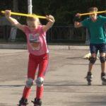 Тренировки юных горнолыжников