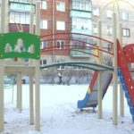 Детские игровые комплексы – подарок жителям к Новому году