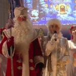 Новогоднее представление в гимназии №14