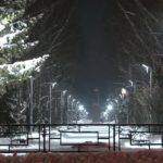 В сквере им. Ленина появится уличное освещение