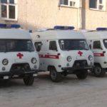 Обновленный автопарк отделения скорой помощи