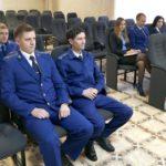 Сотрудники прокуратуры празднуют свой профессиональный праздник