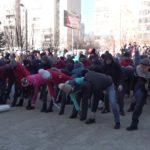 Студенты медицинского колледжа присоединились к акции «Россия в моём сердце»