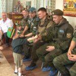 Военные разведчики отметили День защитника Отечества со своими подшефными малышами