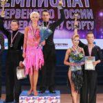 Ирик и Олеся Сиражетдиновы - серебряные призеры России по танцевальному спорту