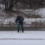 Взрывные работы на реке Инзер