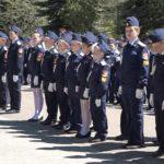 Посвящение в кадеты на Аллее Героев