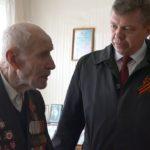 Поздравление ветерана ВОВ Василия Павловича Осокина