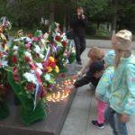 Около ста свечей зажгли белоречане в День памяти и скорби