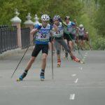 Соревнования лыжероллеров