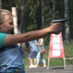Прошел чемпионат РБ по летнему служебному биатлону среди полицейских
