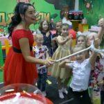 Праздник для детей сотрудников Горэлектросетей