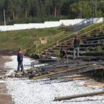 Реконструкция стадиона «Металлург» продолжается