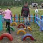Открытие детской площадки в селе Инзер