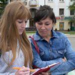 «Территория выборов»: волонтеры движения «Вместе» провели акцию к предстоящим выборам