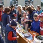 В школах прошли осенние ярмарки