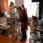 Акция волонтерской помощи одиноким пожилым людям