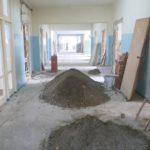 В терапевтическом отделении БЦРКБ проводится капитальный ремонт