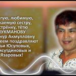 ЛУКМАНОВА Бибинур Акмулловна