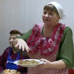 Новогодний капустник провели активисты общества инвалидов