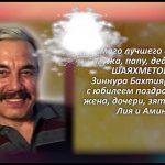 ШАЯХМЕТОВ Зиннур Бахтиярович