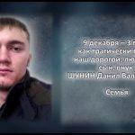 Вспомним. ШУНИН Данил Валерьевич