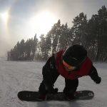 Знаменитый инструктор по сноуборду в ГЛЦ «Мраткино»