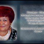 МУХАМЕДЬЯРОВА Флюра Сафовна