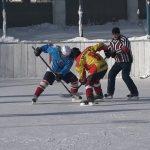 В Белорецком районе проходит открытое первенство по хоккею с шайбой