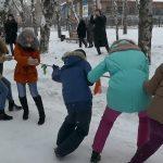В городском парке отдыха провели День снега